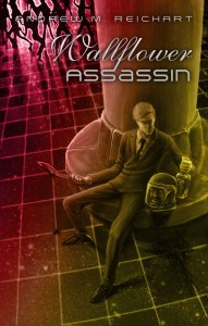 Wallflower Assassin cover illustration by Mike Bennewitz