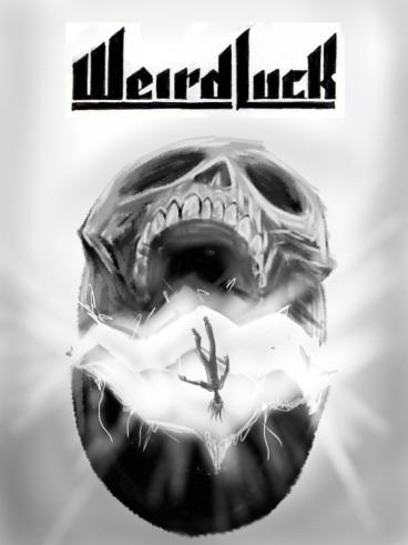 Weird Luck cover sketch by Mike Bennewitz